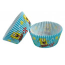 mayorista Molde pastelería gratin: Spongebob - 48 moldes para muffins