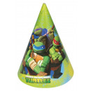 Teenage Mutant Ninja Turtles - 6 Party-Hütchen