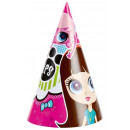 Littlest Pet Shop - 6 Party-Hütchen
