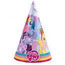My Little Pony - 8 Party-Hütchen
