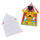 grossiste Jouets pour bebes: Fisher Price Circus - 8 cartes d'invitation