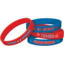 Spiderman - 4 bracelets