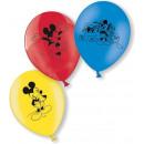 Mickey Mouse - 10 balonów Myszka Mickey Mouse