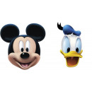 wholesale Toys: Mickey Mouse - 4 masks Disney Mickey Mouse