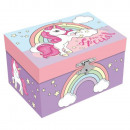 wholesale Jewelry Storage: Unicorn jewelery box (with music)