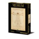 500 pieces Jigsaw  Leonardo - Vitruvian Man