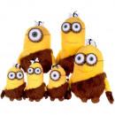 wholesale Toys: Minions - Cave Men plush figures 15-18 cm