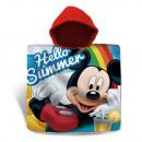 Mickey Mouse bath poncho