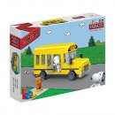 BanBao 7506 - Building Kit, Snoopy School Bus