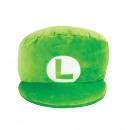 Nintendo Plüsch - Luigi Hut - Plüschkissen (40cm)