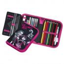 grossiste Cadeaux et papeterie: Monster High étui  à crayons 30 pcs étui à crayons