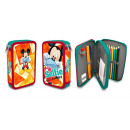wholesale School Supplies: Federmappe Mickey Maus 19,5x13,5x4 cm