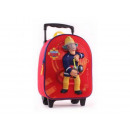 Großhandel Koffer & Trolleys: Fireman Sam Hero  of the Storm 3D Trolley Rucksack