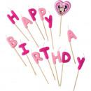 Minnie -  Happy  Birthday   stuzzicadenti ...