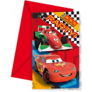 grossiste Cartes de vœux: Cars RSN - cartes  d'invitation avec enveloppe