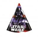 grossiste Cadeaux et papeterie: Star Wars - Party chapeaux 6 pièces.