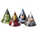 grossiste Cadeaux et papeterie: Avengers Heroes  multi - chapeaux Party 6 pcs.