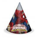 grossiste Cadeaux et papeterie: Ultime Spiderman  Web Warriors - chapeaux Party 6 p