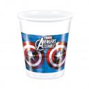 Avengers Multi Heroes - Plastic bekers 8 pct 200