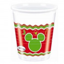Mickey Kerst Nordic - plastic beker 200ml