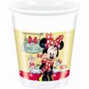 grossiste Tasses & Mugs: Minnie Cafe -  tasse en plastique 200ml
