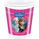 wholesale Cups & Mugs: Ice Queen / Frozen  - plastic cups 200ml 8pcs