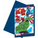 grossiste Cartes de vœux: Avengers Assemble  - cartes  d'invitation ...