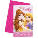 grossiste Cartes de vœux: Princess Glamour -  Carte  d'invitation ...