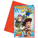 grossiste Cartes de vœux: Toy Story Party  Favors - cartes d'invitation a