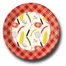 Barbeque - Paper Plates Grote 23cm (10 stuks)