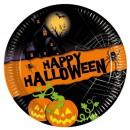 Nuovo Halloween -  piatti di carta media 20 centime
