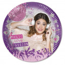 wholesale Gifts & Stationery: Violetta Gold  Edition - Paper Plates 8 pcs 20cm.