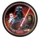 grossiste Articles de fête: Star Wars &  Heroes - assiettes en papier 8 pcs