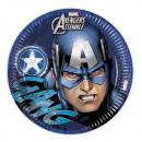 grossiste Cadeaux et papeterie: Avengers Ados -  assiettes en papier 8 pcs environ