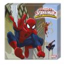 Ultimate Spiderman  Web Warriors - Serviette 20 Stk