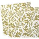 grossiste Linge de table: Fleur royale -  Serviette en  papier 3 plis ...