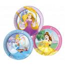 grossiste Cadeaux et papeterie: Princesse Strong  Heart - assiettes en papier 23cm