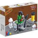 hurtownia Zabawki konstrukcyjne & klocki: BanBao 7525 - Zestaw budowlany, Snoopy Workshop