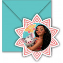 grossiste Cartes de vœux: Vaiana - Moana  Invitations & enveloppes