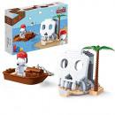 groothandel Bouwstenen & constructie: BanBao 7519 - bouwpakket, Snoopy pirate-schatlens