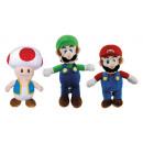Nintendo 3-krotnie pluszowy Mario Luigi Toad