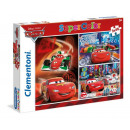 Disney Cars 3 x 48 Teile Puzzle
