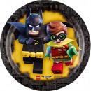 wholesale Blocks & Construction: LEGO Batman - paper plate 18cm, 8 pcs