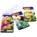 6 Einladungskarten und Umschläge Biene Maja Maya