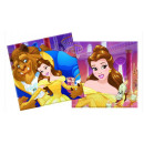 Beauty & The Beast - papieren servetten 33x33c
