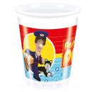 grossiste Maison et cuisine: Pat Postman -  tasses en plastique 200ml