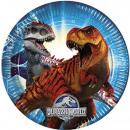 Jurassic World - papieren bord 23 cm