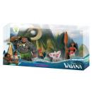 Vaiana - Moana Spielfigurenset 4 pièces