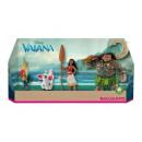 Vaiana - Moana zestaw elementów postaci 4 sztuki