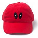 Großhandel Kopfbedeckung: Marvel Deadpool - Baseball-Cap (rot)